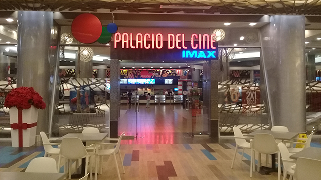 Palacio del Cine Blue Mall Santo Domingo
